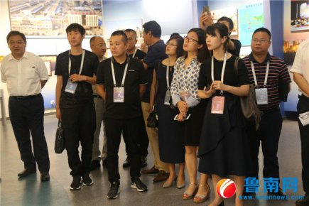 青年企业家创新发展国际峰会考察团到访临沂商城
