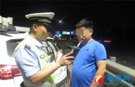 夜间交通违法,查!