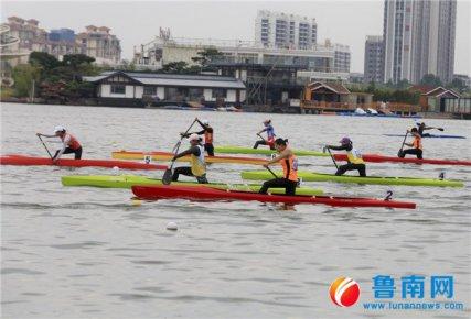 2018年全国皮划艇锦标赛拉开赛幕