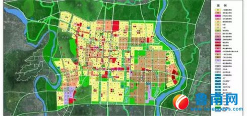 沂南县城总体规划获省政府批复