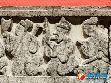 《太阳GG吴白庄汉画像石墓》发掘报告首发