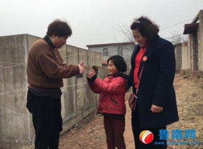 临沂市孤贫儿童志愿者服务团郯城团志愿者张道凤:孩子的笑脸