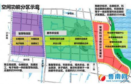 罗庄将建28000亩科创智慧城