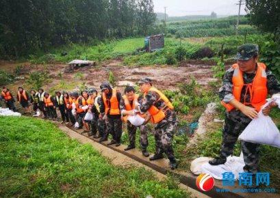 调拨160余万元救灾物资 临沂打响台风灾后救援战
