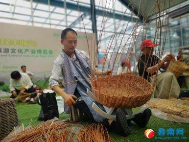 第六届中国(临沭)柳编旅游文化产业博览会开幕