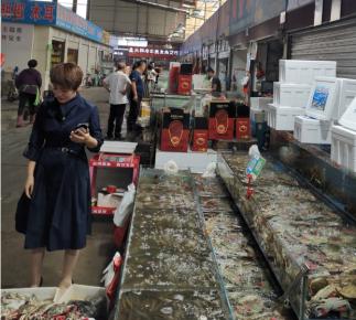 江苏大闸蟹趁机抢占临沂9成市场