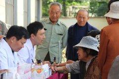 兰陵县妇女儿童医院开展进村公益义诊活动