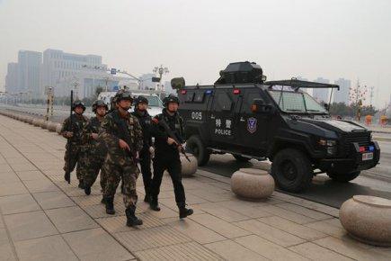 临沂兰山公安春节期间加强巡逻防控