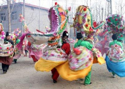 八仙秧歌闹新春