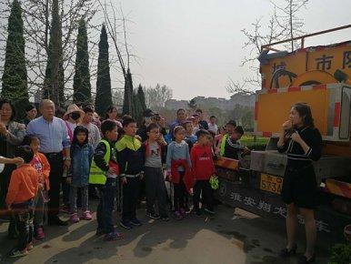200余名鲁南商报粉丝参观临沂首创污水处理厂 污水变清水,如同