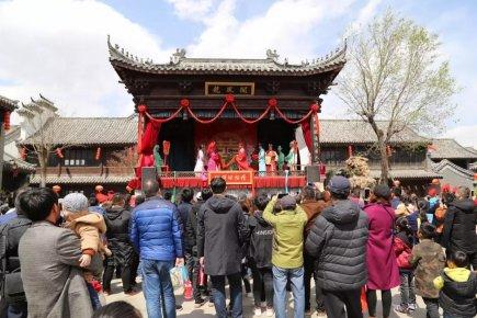清明小长假龙园旅游区春意浓人气旺