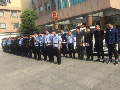 制服手持铁锹暴力抗法的当事人,拘传19人扣押2车