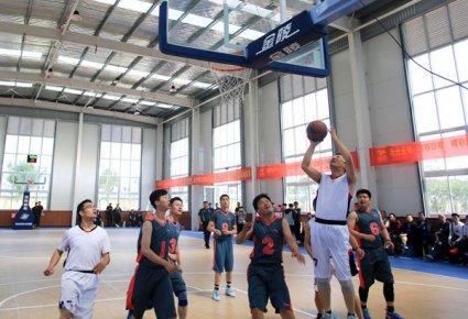 """""""宣传文化杯""""篮球赛开赛"""