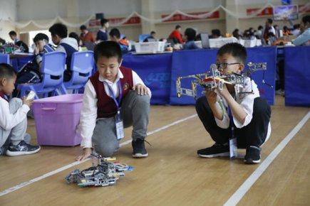 省青少年机器人竞赛在临沂举办