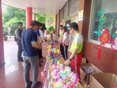 王羲之故居开展关爱特殊儿童志愿服务活动