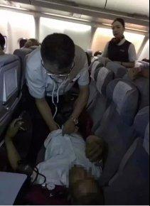 生死时速!飞机起飞半小时突然返航,214名乘客全部支持,