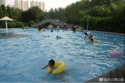 人民公园游泳中心正式对外开放