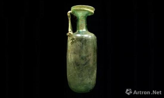 彩色玻璃容器 2-3世纪 意大利罗马卡皮托利尼考古博物馆藏