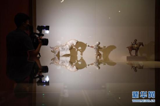 """(文化)(2)国博举办""""大唐风华""""展览"""
