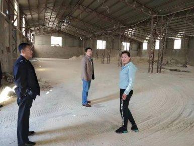 """卞桥镇开展对已关停高危、高污木粉企业""""回头看""""执法检查"""