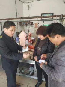 卞桥镇食药监所开展辖区食品安全大检查活动