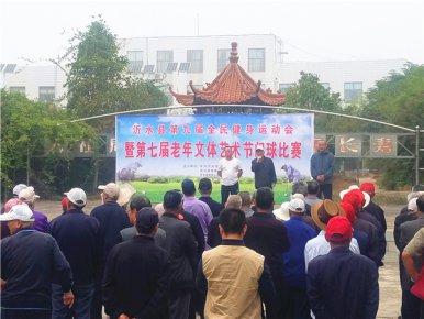 沂水县第九届全民健身运动会暨第七届老年文体艺术节门球比赛落下帷幕