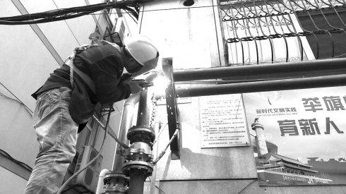 临沂恒源热力供热设备已进入启动备用状态 11月10日,用�