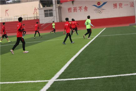 沂水县第九届全民健身运动会青少年足球比赛成功举办