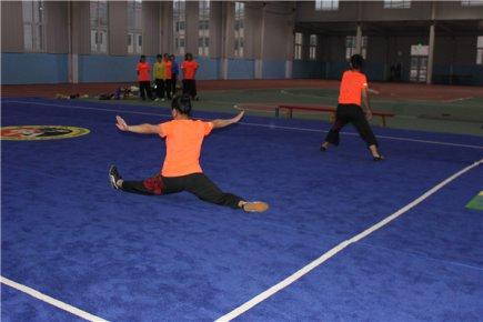 沂水县举办第九届全民健身运动会青少年武术比赛