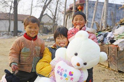 一只毛绒熊,让12岁女孩欢呼雀跃 它并不实用,却寄托着一�