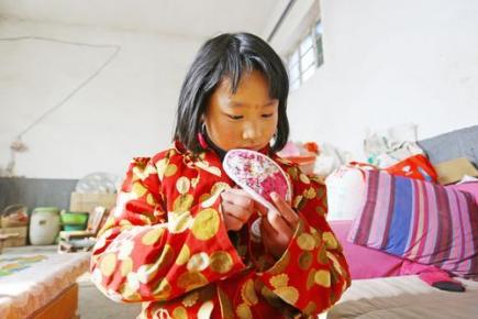 """临沂8岁女孩的新年愿望:""""想要台洗衣机送'妈妈'"""""""