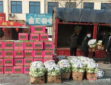 病毒无情 人间有爱 白沙埠镇尤新村:新鲜蔬菜送到家门口