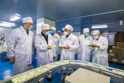 推动企业有序复工复产 王玉君到鲁南制药集团调研疫情防
