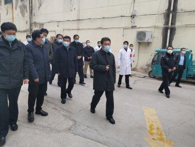 快讯!王玉君带队到河东区检查指导疫情防控工作