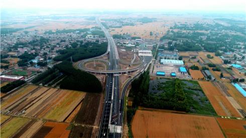 好消息!京沪高速改扩建工程兰陵互通建成通车