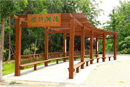 临沂市法治文化主题公园建设完成对外开放