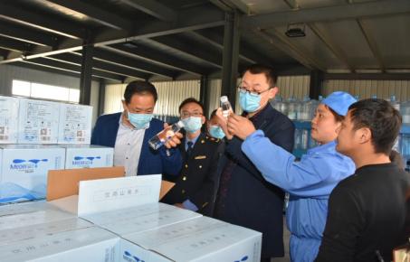 平邑县市场监管局召开桶装饮用水生产企业风险防控约谈会