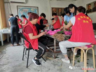 汤河镇故县社区新时代文明实践站活动纪实