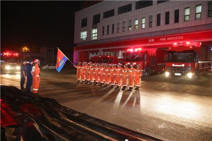 奋战28天 凯旋归建——临沂消防圆满完成跨区域增
