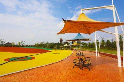 临沂新增一开放式公园!滨河景区黄山公园10月1日将正