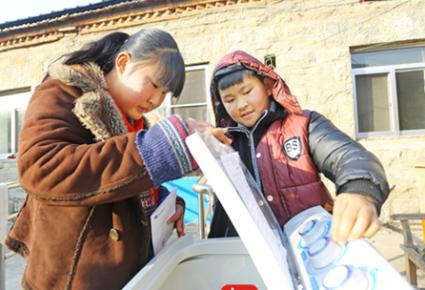 【新年圆梦】懂事姐弟心疼奶奶:心愿从学习机换成洗衣机