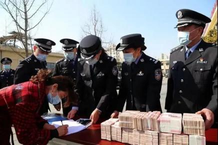 """追回赃款119万元!兰山警方打掉一借""""3.15大促""""为诱饵的诈"""