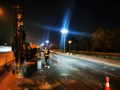 滨河路路面(沂河路―罗程路)加固维修完成!恢复正常