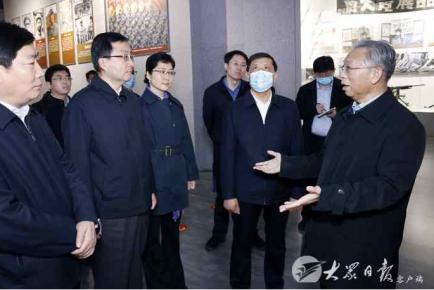 刘家义在临沂市调研时强调 以为群众办实事的实际成效践行初心