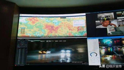 昨夜风急雨骤 防汛人员紧急到位应对强降雨