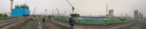北京路沂河桥新桥预计10月份将实现通车