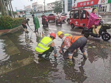 临沂市城管局严阵以待加强值守保障城市安全度汛