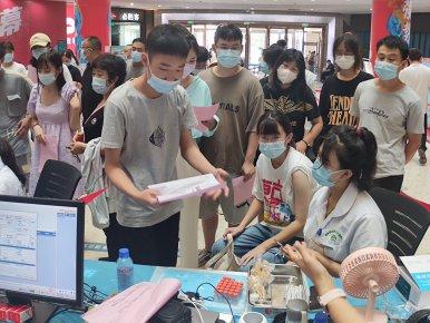 临沂市兰山区15-17岁人群新冠疫苗接种有序进行