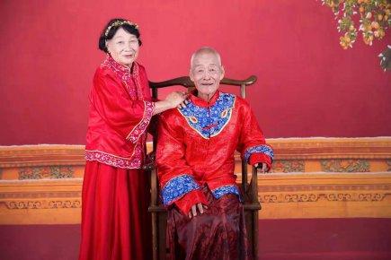 七夕有爱 医养有情 临沂城投医养最美老人美拍活动开拍了