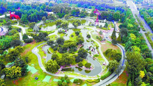临沂雕塑公园:打造充满民生温度的最美城市公园